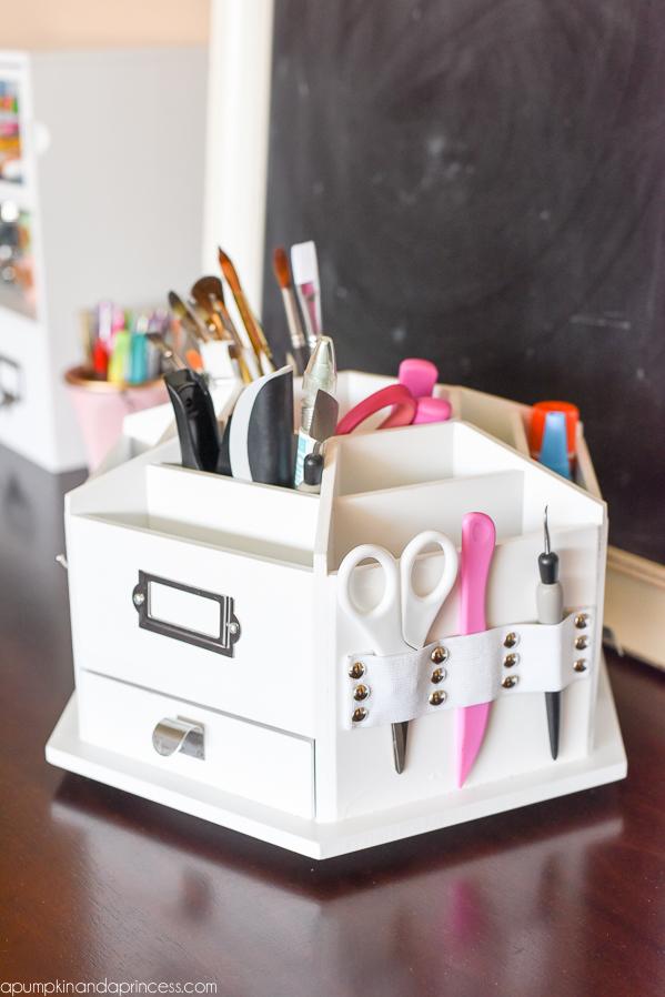 Craft Desk Organizer