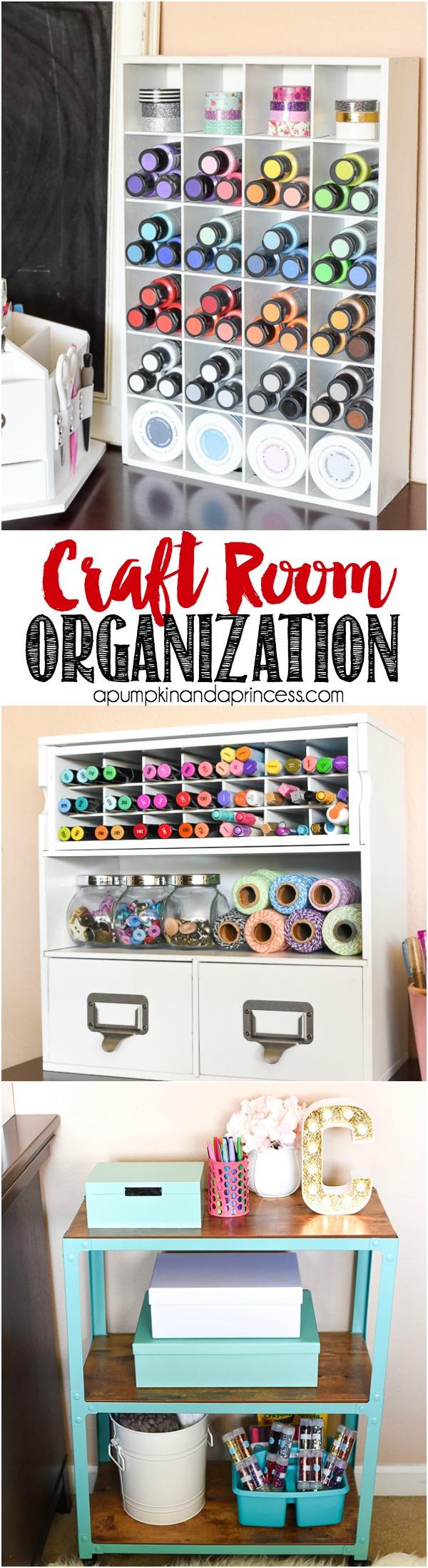 Craft room organization a pumpkin and a princess for How to organize craft supplies