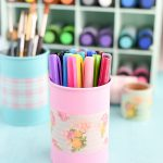 DIY Tin Can Organizers
