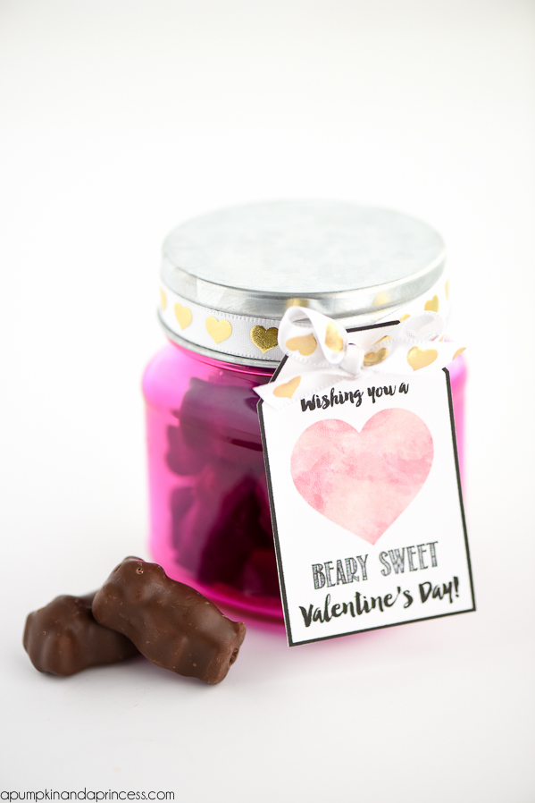 Gummy Bear Valentine Printable