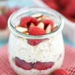 Raspberry Almond Overnight Oats Recipe