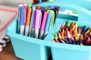 School Supply Organization Ideas