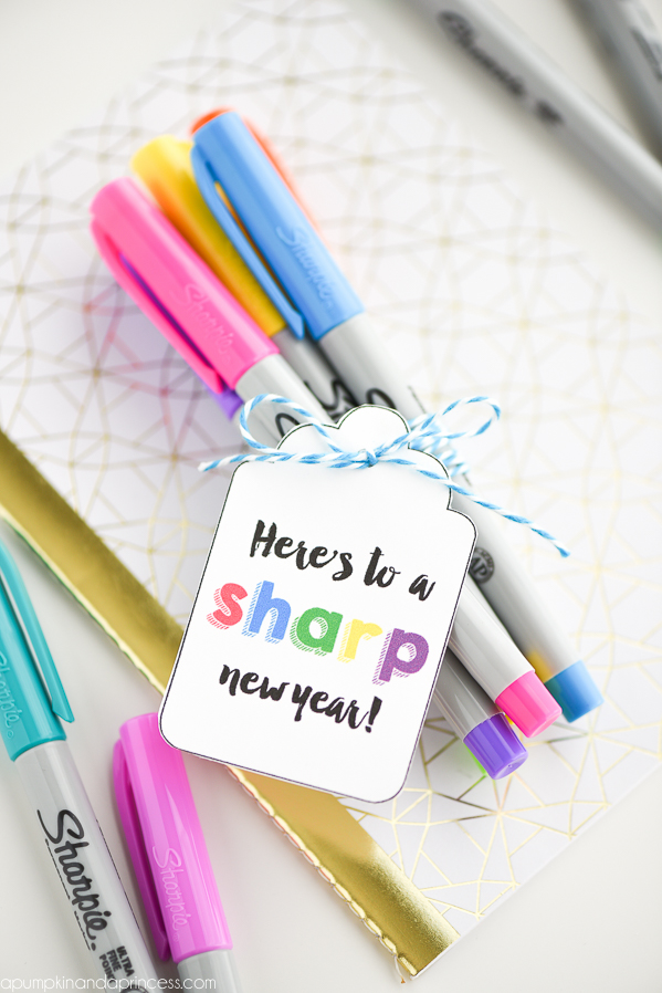 Sharpie Teacher Gift Printable