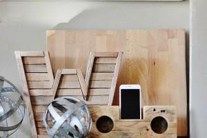 wood speakers diy