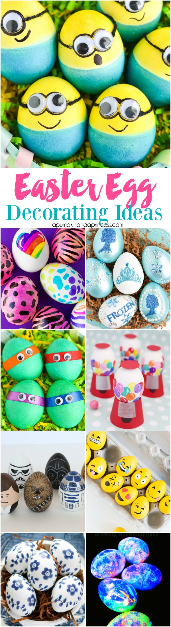 easter egg decorating ideas for kids 30 easter egg decorating ideas a pumpkin and a princess 13212