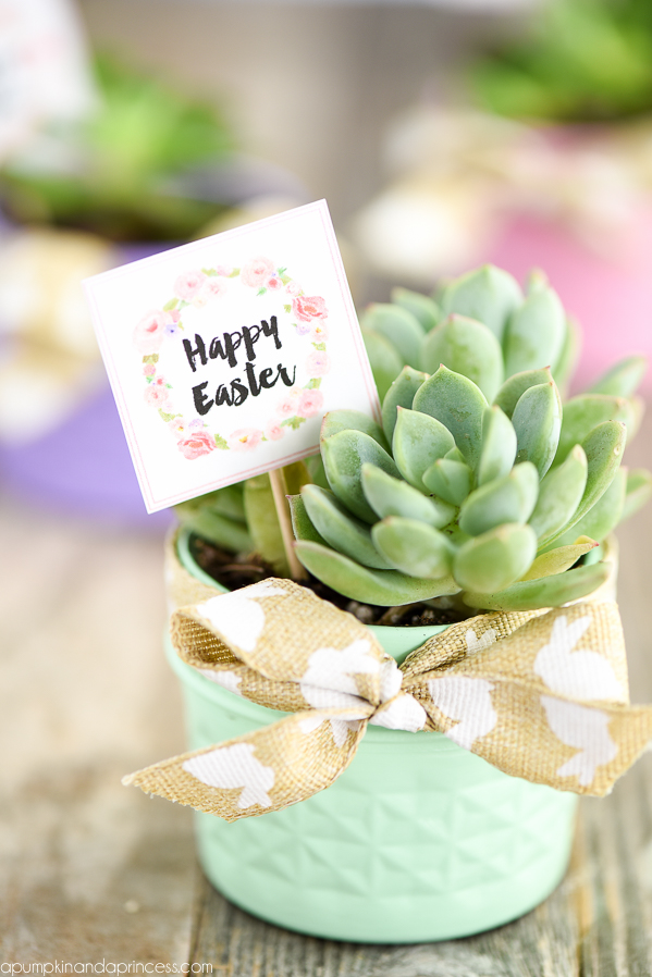 Happy Easter Printable Gift Tags