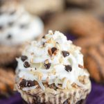 Samoas Ice Cream Cupcakes