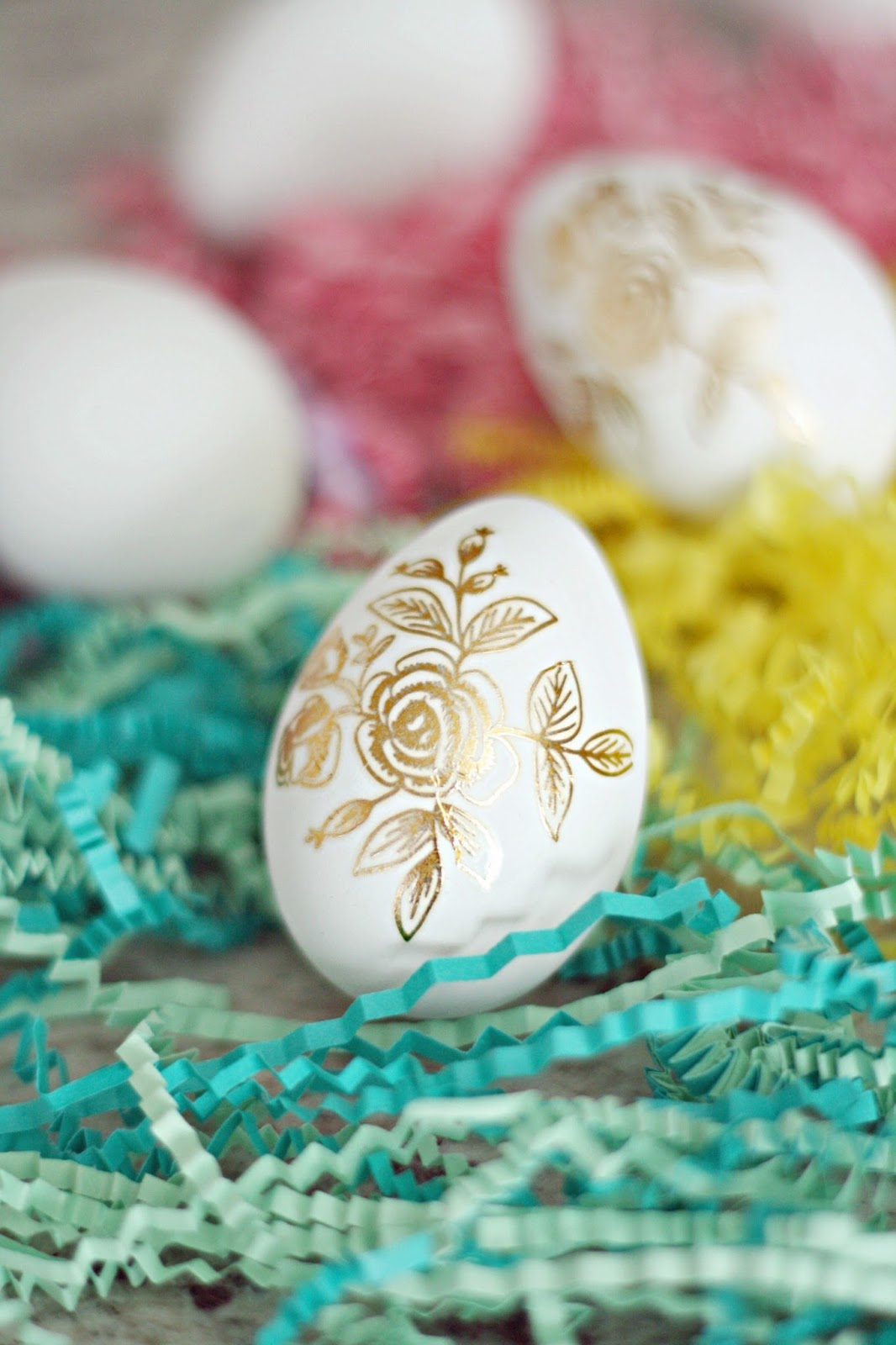 30+ Easter Egg Decorating Ideas - A Pumpkin And A Princess