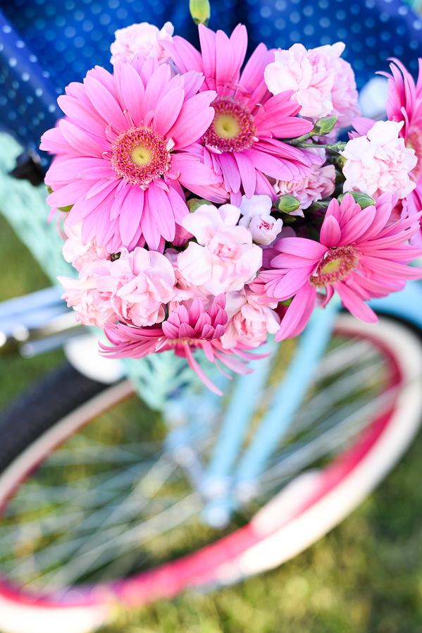 Beach Cruiser - Flower Basket