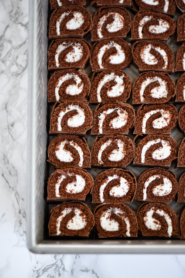 Chocolate Swiss Rolls