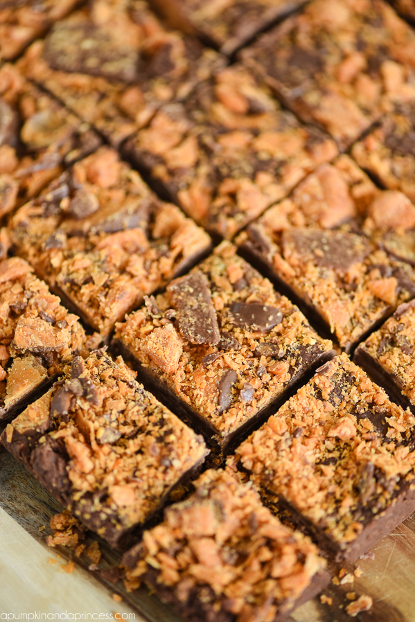 Easy Butterfinger Fudge Recipe