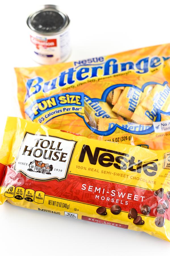 Easy Butterfinger Fudge Recipe