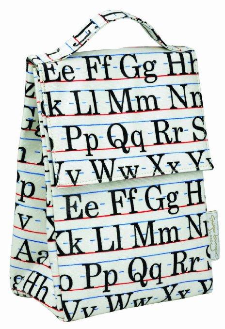 alphabet lunch sack