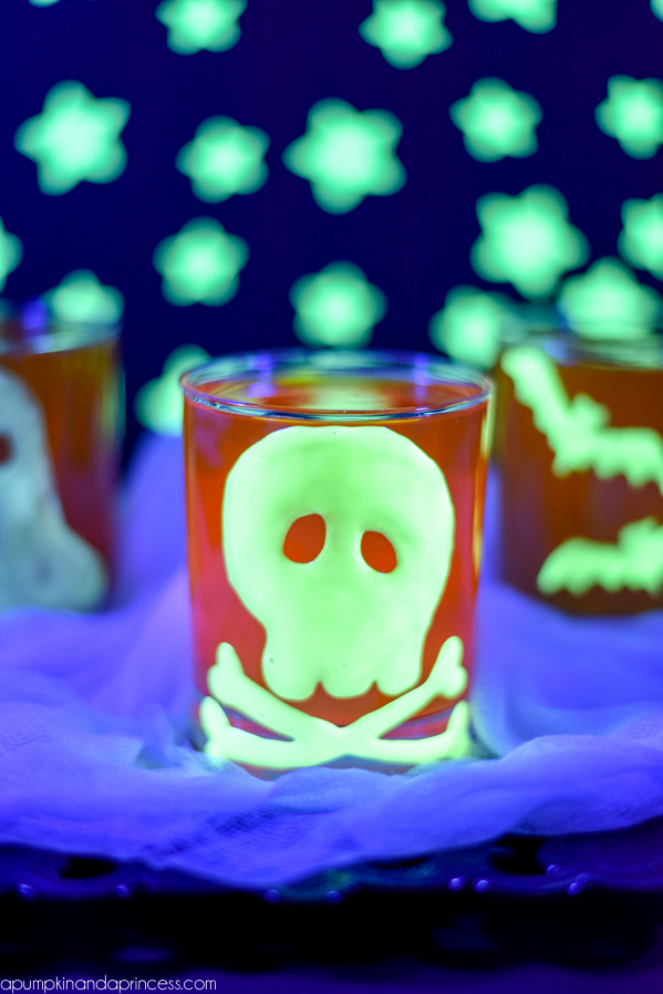 Glow In The Dark Halloween Clings