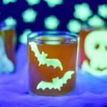 Glow-in-the-dark Halloween Clings