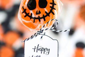 Pumpkin Lollipops