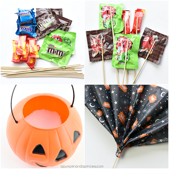 Halloween Candy Bouquet Tutorial