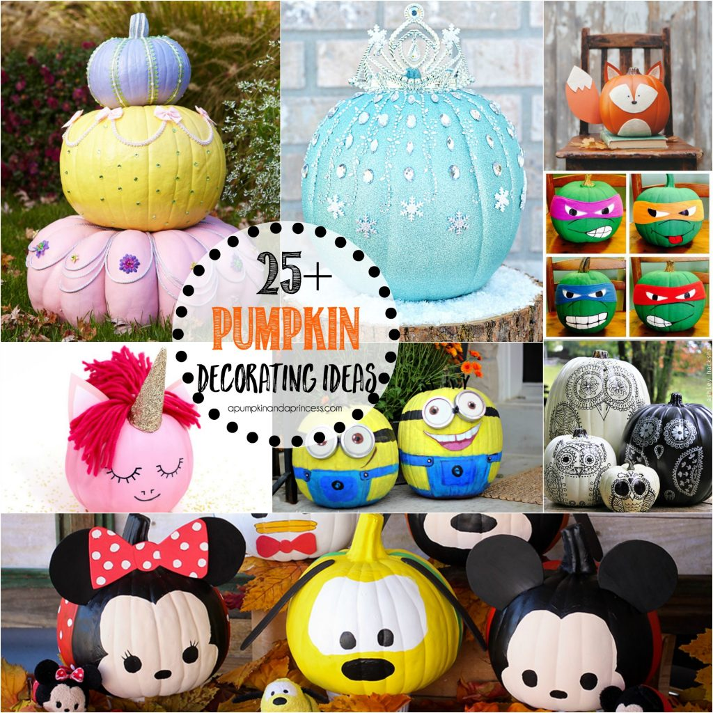 25+ Creative Pumpkin Decorating Ideas   Everything From Disney Princess  Pumpkins, Spooky Pumpkins And