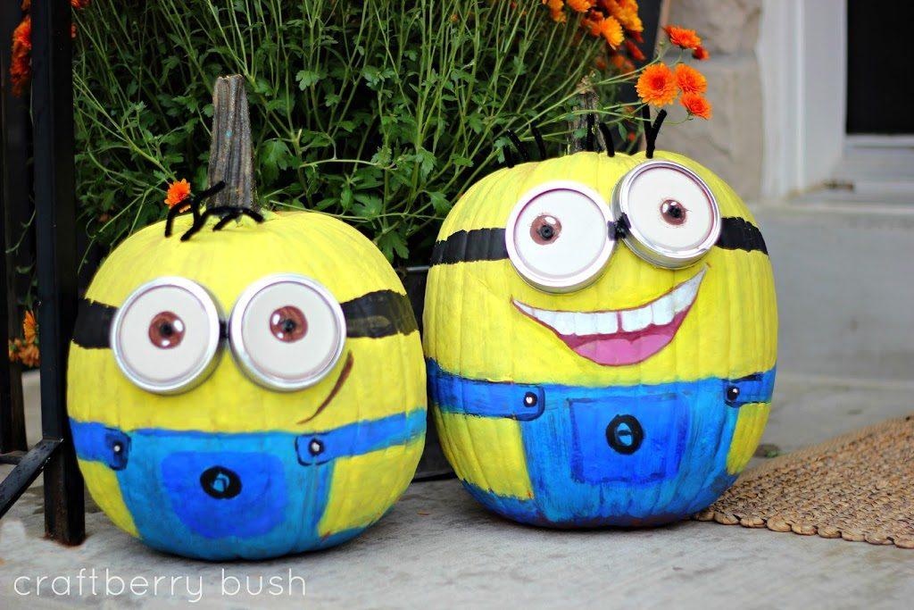 diy-minions-pumpkins