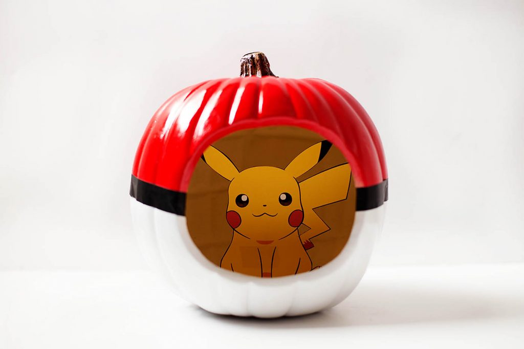 diy-pokeball-pumpkin
