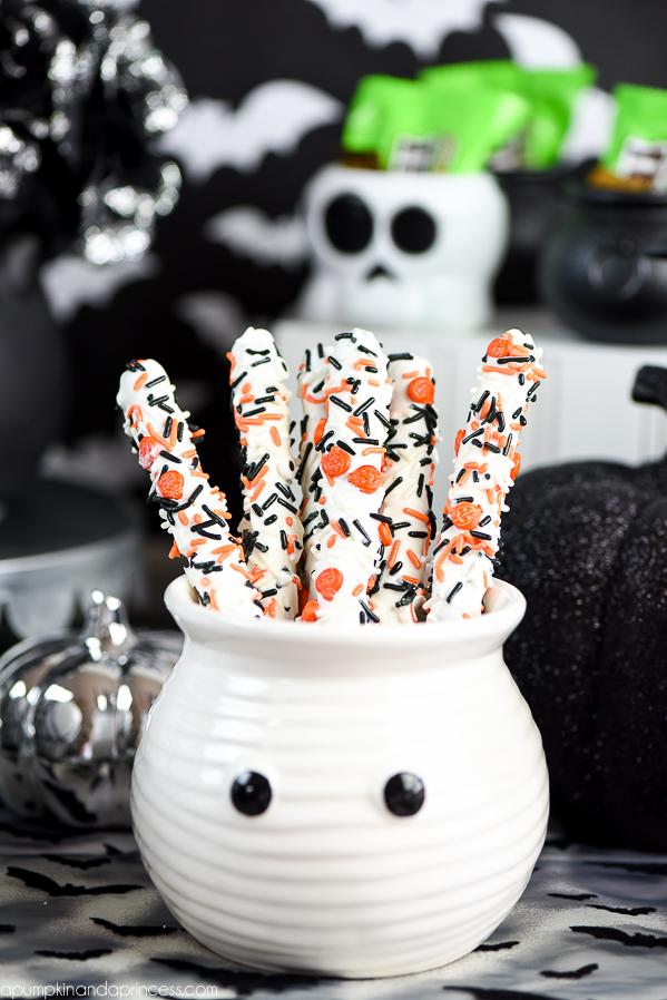 Halloween Pretzels