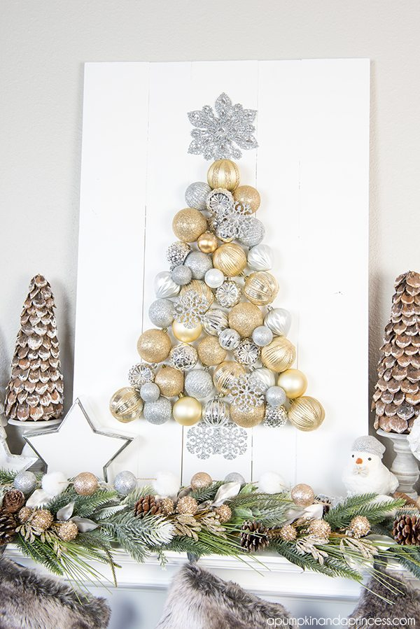 Diy Ornament Tree Display How To Make An Christmas