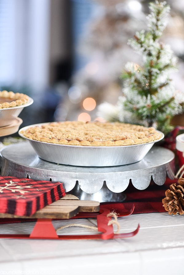 holiday pie bar