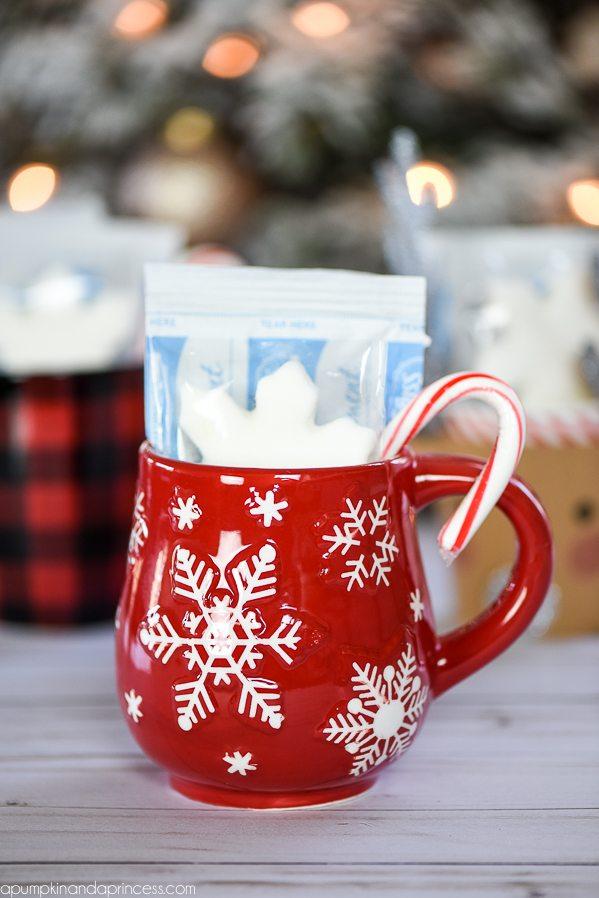 hot cocoa mug gifts