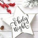 O Holy Night Christmas Star