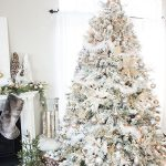 Gold and Silver Winter Wonderland Tree