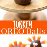 How to make Turkey OREO Balls – Easy Thanksgiving treats for kids