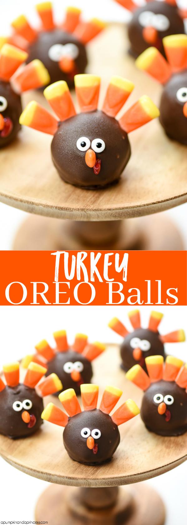 How to make Turkey OREO Balls – Easy Thanksgiving treats for kids