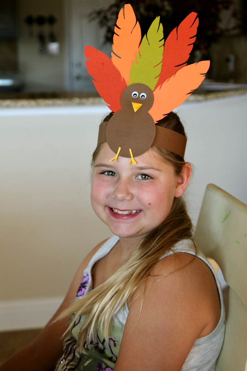 Thanksgiving ideas for kids for Craft hats for kids