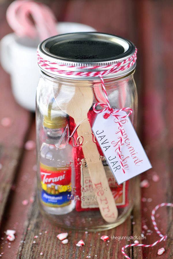 Christmas Mason Jar Gifts