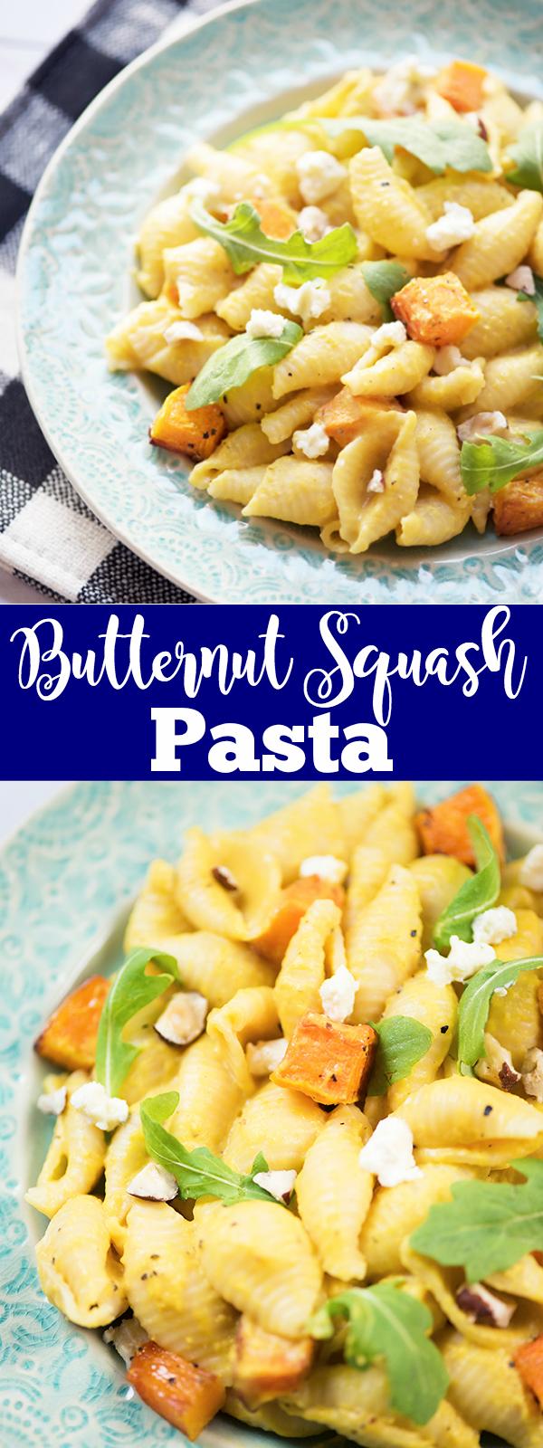 butternut squash pasta