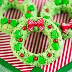Rice Krispies Wreaths