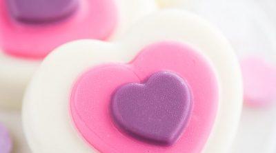 Chocolate Covered OREO Hearts
