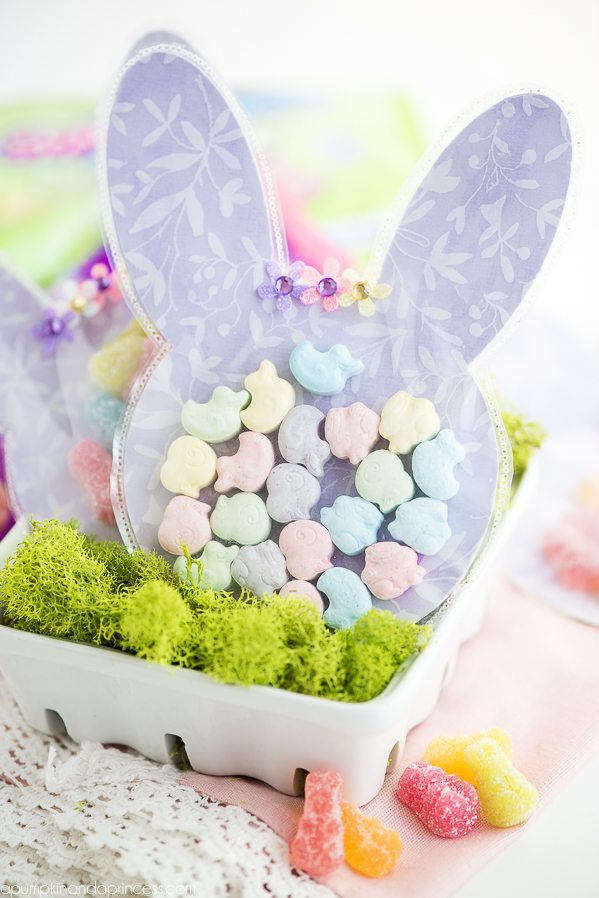 Easter bunny treat bags ive always been a big fan of holiday shaped candy especially when making holiday theme treat bags the sweetarts soft bite bunnies sour bunny gummies negle Image collections