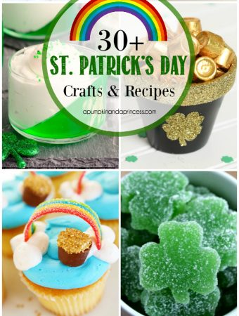 30+ St. Patrick's Day Ideas - creative St. Patrick's Day crafts, recipes and activities to make with kids.