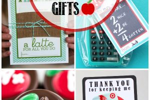 30 Teacher Appreciation Gifts - creative teacher appreciation gift ideas and printables.