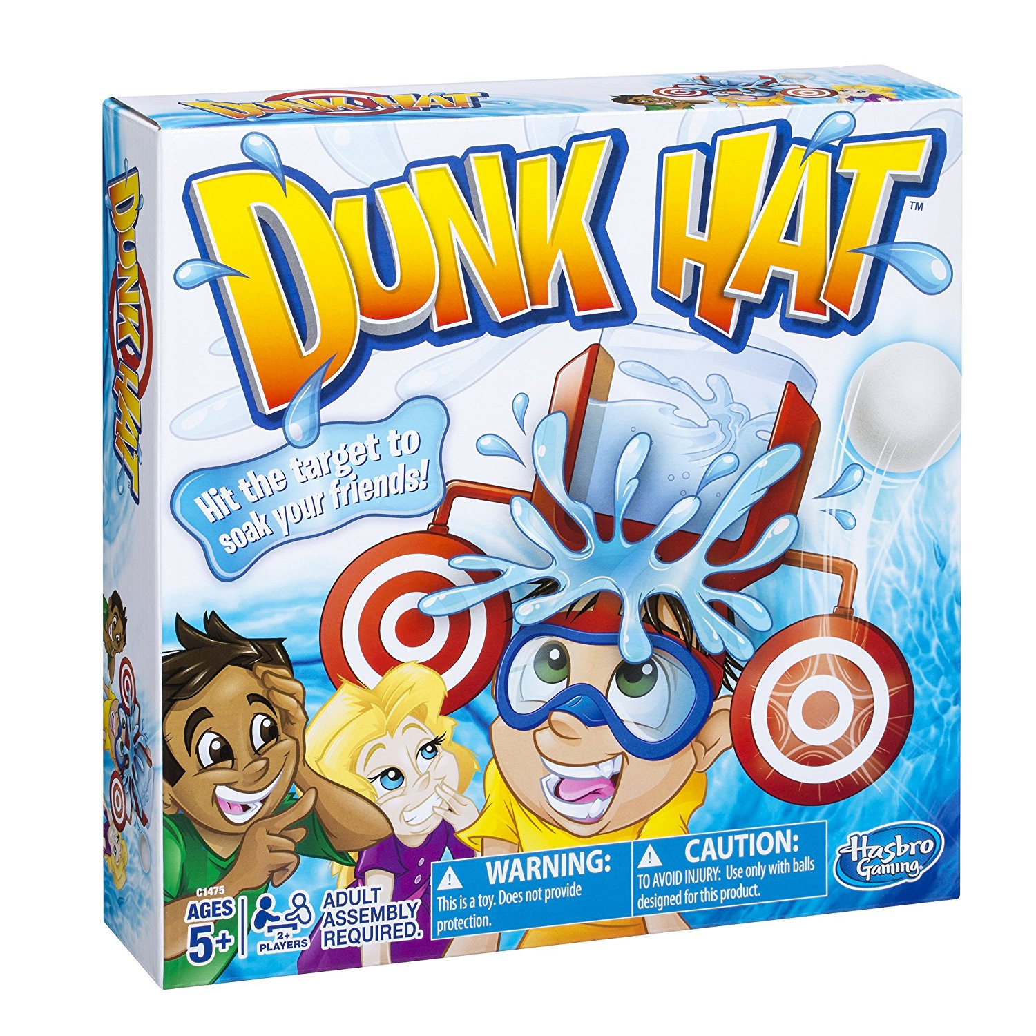 dunk hat table game