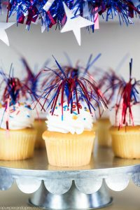 Red, White and Blue Patriotic Party Ideas - easy treats and party decor!
