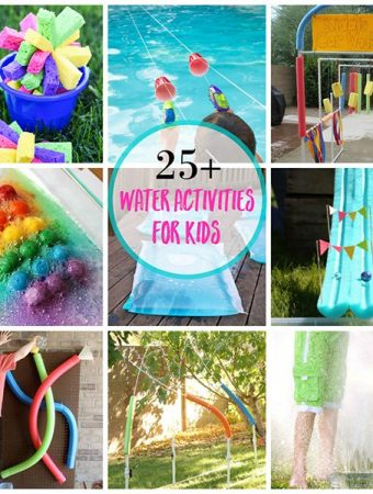 Keep the kids busy these fun water activities for kids!