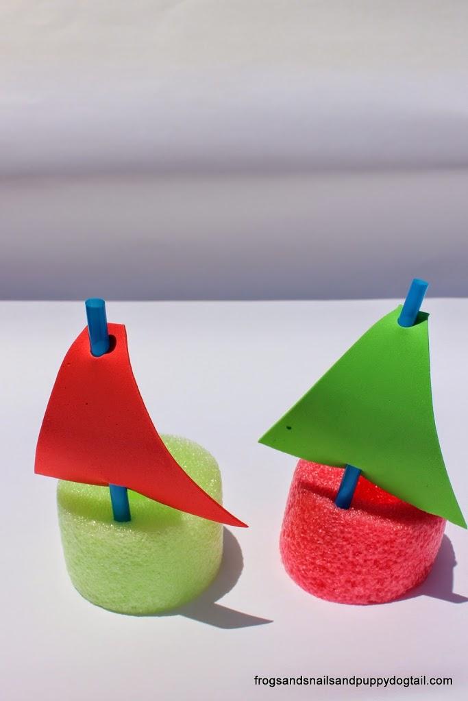 spongue boats