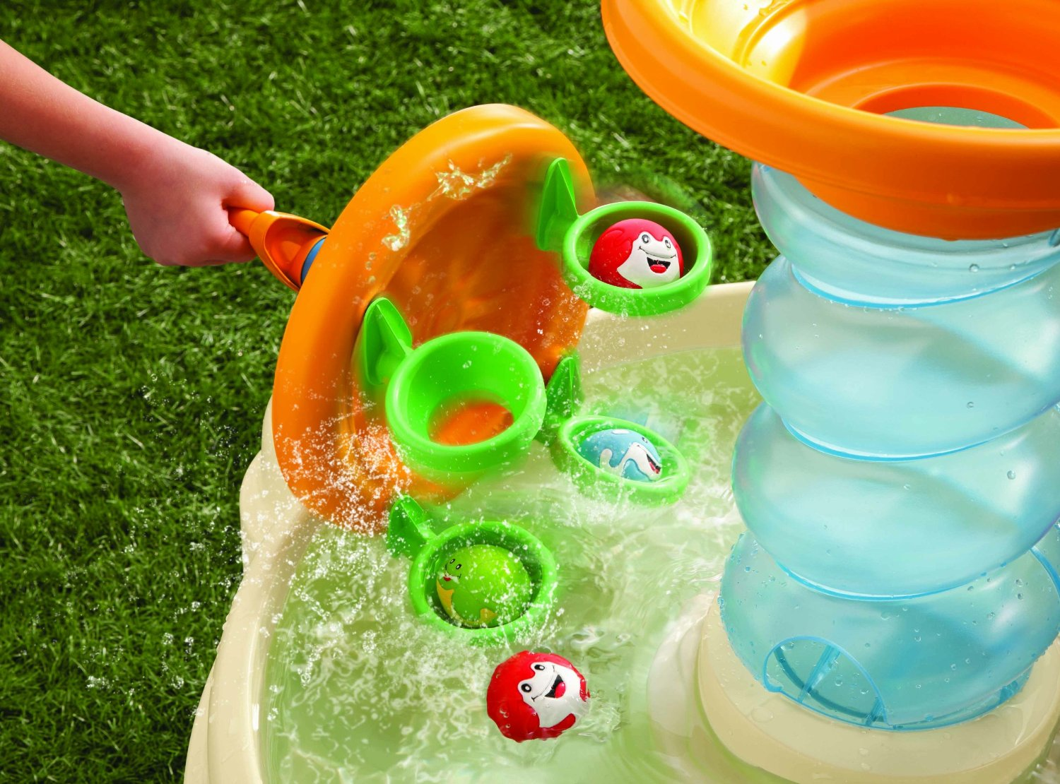 Frog Water Table For Little Tikes Replacement Parts : Creative water activities for kids