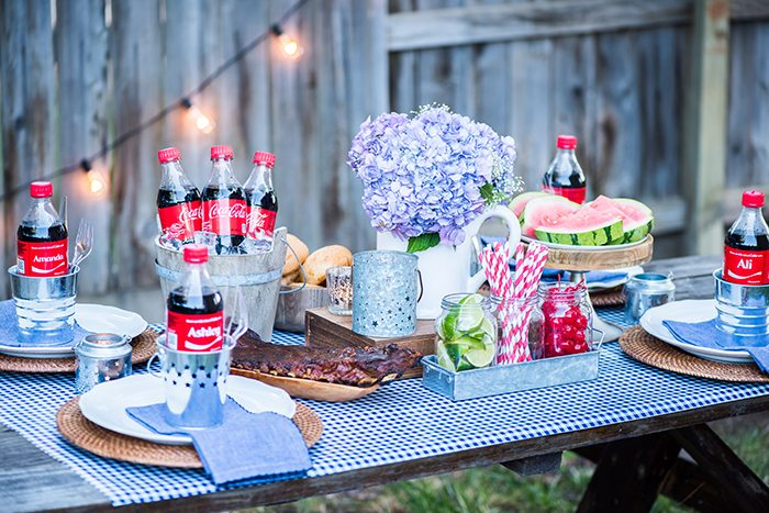 Summer BBQ Tablescape