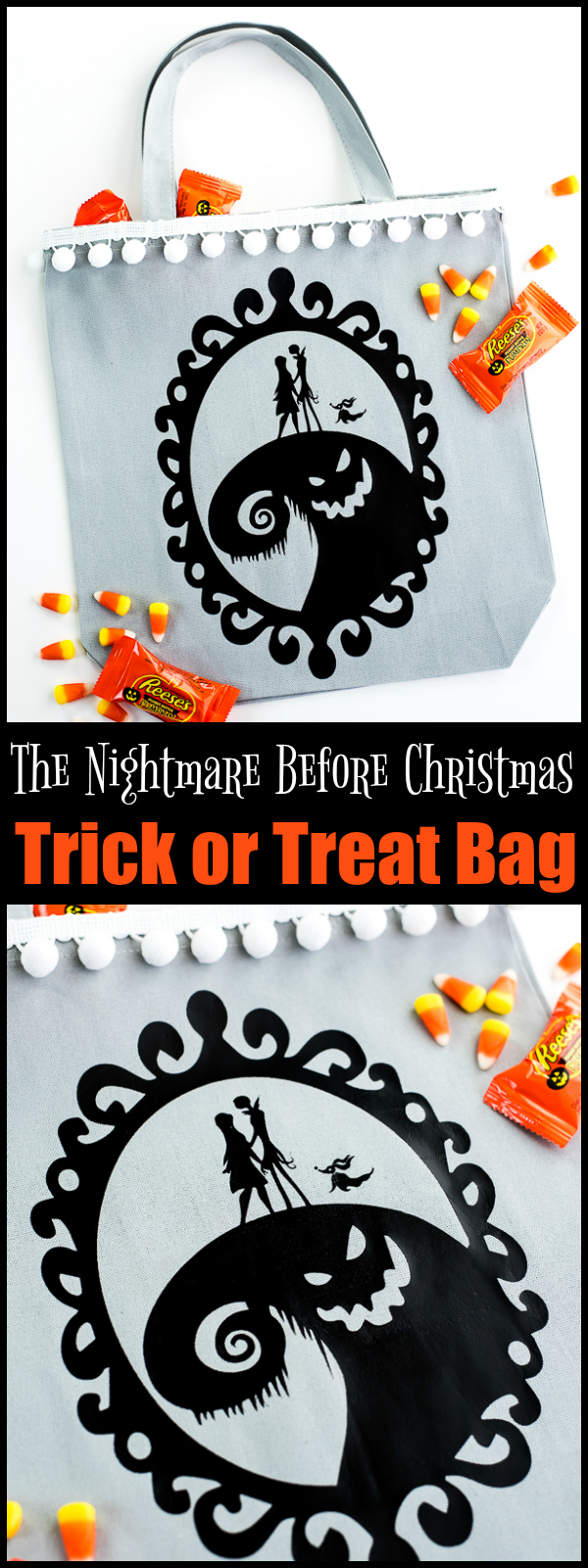 DIY Nightmare Before Christmas Bag
