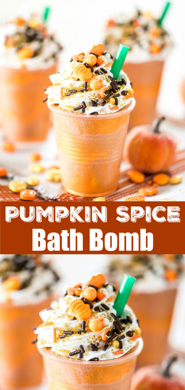 Pumpkin Spice Bath Bomb DIY