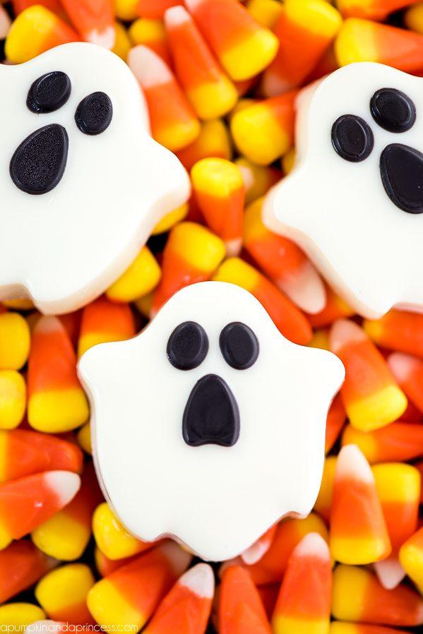 OREO Ghost Cookies