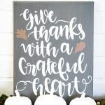 Thanksgiving Grateful Sign